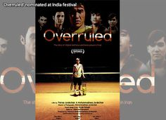 'Overruled' nominated at India festival