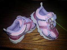 Sparkly Swarovski baby toddler kids tennies sneakers