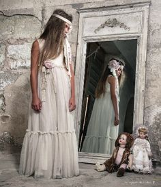 Resultado de imagen de vestidos de comunion vintage 2015