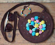 Crochet bag patternBag and Bracelet crochet by ColorfulEasyCrochet