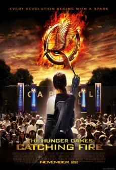 The Hunger Games Catching Fire movie. Can't wait till it comes out!!