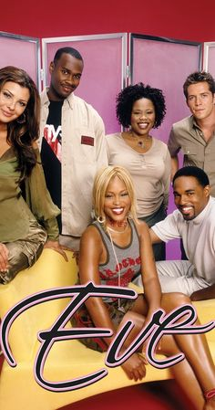 tv shows Eve Created by Meg DeLoatch. With Eve, Jason George, Ali Landry, Natalie Desselle Reid. ing Eve and her group of friends as they experience the highs and lows of life. 90s Tv Shows, Great Tv Shows, Movies Showing, Movies And Tv Shows, Black Sitcoms, Ali Landry, Black Tv Shows, Plus Tv, Black Celebrities