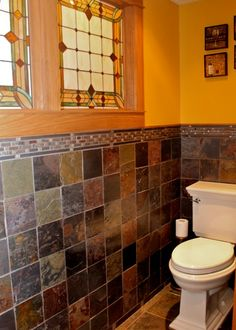 Arts and crafts bathroom #artsandcrafts #greenvillscrealestate #greenvilleschomerestoration