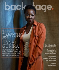 """Walking Dead"" star, Danai Gurira tells why shes a force to be reckoned with after bringing two plays to NYC!"
