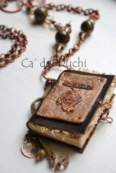 Book of memories necklace