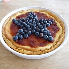 and blueberry cheesecake tart red white and blueberry tart red white ...