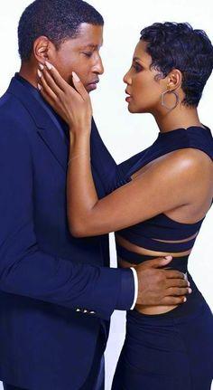 Babyface Kenny Edmonds and Toni Braxton