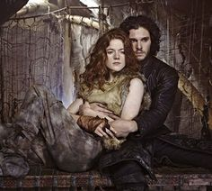 A Game of Thrones - Ygritte and Jon