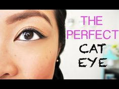 HOW TO: Get The Perfect Winged Eyeliner (Cat Eye). Makeup Tutorials, Beauty Tips, Style Inspirations, Healthy Recipes   www.chiutips.com
