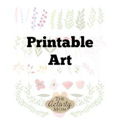 Printable Art Printable Quotes, Printable Art, Printables, Framed Quotes, Art Activities, Art For Kids, Artwork, Home Decor, Art For Toddlers