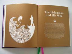 Inspiring Book Design - Brothers Grimm 1
