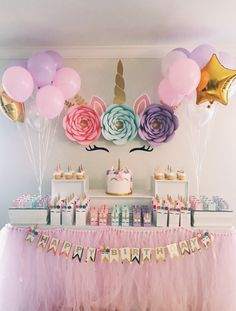 Party Paper Flower Backdrop Unicorn Party Paper Flower BackdropBackdrop Backdrop or Bankdrops may refer to: Unicorn Themed Birthday Party, First Birthday Parties, Birthday Party Decorations, Girl Birthday, 1st Birthday Girl Party Ideas, Unicorn Party Bags, Flowers For Birthday, Craft Birthday Party, Unicorn Birthday Cakes