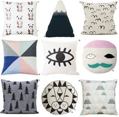 The Design Chaser: Cushions | Grown Ups + Kids