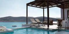 Premium suite with private pool, Domes of Elounda- Crete