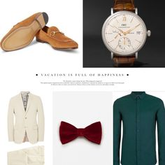 Men's Holiday inspired look! #BeyondBeauty