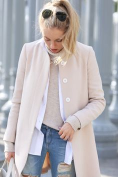 light neutrals for fashion week