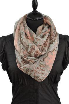 9865f0d0ff1d 24 meilleures images du tableau foulard infinie   Scarves, Scarf ...