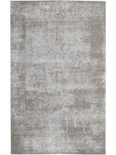Flachgewebe Teppich Frencie Baroque Grau 300x400 Cm