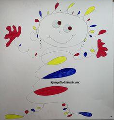 Calder: un diavolo per capello.....e per corpo - Laboratori nelle scuole Alexander Calder, Herve, Art Plastique, Diy And Crafts, Projects To Try, Shapes, Inspiration, Clowns, Kids Activity Ideas