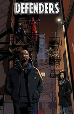 Marvel's The Defenders. Luke Cage, Daredevil, Jessica Jones and Iron Fist. And Claire Temple, because she definitely counts, I mean come on. Hq Marvel, Marvel Series, Marvel Dc Comics, Netflix Marvel, Mundo Marvel, Comic Book Characters, Marvel Characters, Comic Character, Comic Books