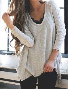 fall-fashion-gray-knit
