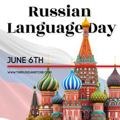 Today, June 6th, is Russian Language Day! Do you speak Russian? Are you interested in learning? Tell us about it! Learn To Speak Russian, Russian Language Learning, June 6th, Trinket Boxes, Dolls, Day, Gifts, Baby Dolls, Presents