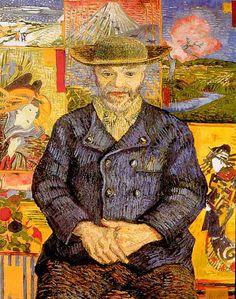 Vincent van Gogh - Portrait of Pere Tanguy 1887