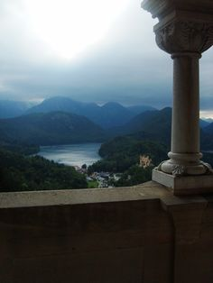 View from Neuschwanstein, Germany