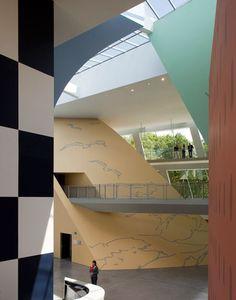 Musée Hergé, Louvain-la-Neuve, Belgium | Atelier Christian de Portzamparc