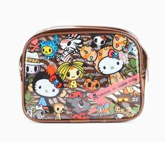 tokidoki x Hello Kitty Vinyl Pouch: Safari