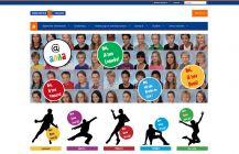 Anna van Rijn College website. Webdesign op basis van Wordpress CMS