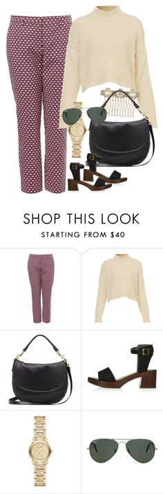 """Untitled #2460"" by erinforde ❤ liked on Polyvore featuring Chanel, Mulberry, Topshop, Burberry and Ray-Ban"