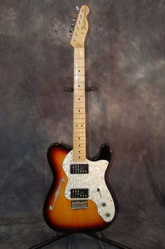 Fender 72 Reissue Thinline 2005 Sunburst   Reverb.com..Give us a call. Lawman Guitars. 515-864-6136