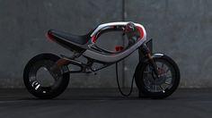 Après avoir révolutionné l'industrie du design moto en 1985 avec le concept FZ750, le studio de design Frog nous présente sa vision actuelle du deux roues avec le eBike imaginé par Jin Seok Hwang.