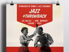 WE Design Studios - Jazz poster design for Mount Holyoke College