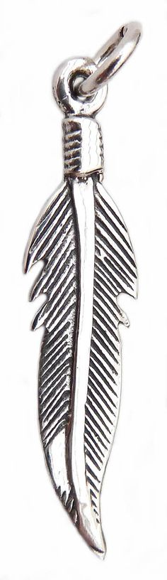 Feather charm on chain £21.95
