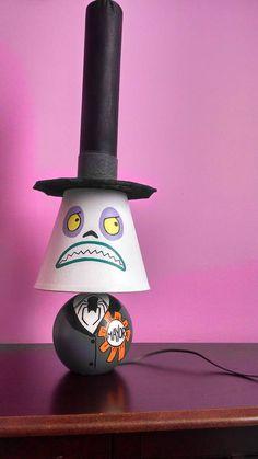 Nightmare Before Christmas Mayor lamp  - HOME SWEET HOME