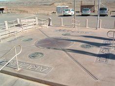 Arizona, Utah, New mexico, Colorado: four corners  i wanna go here!