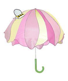 Love this Pink Lotus Umbrella on #zulily! #zulilyfinds