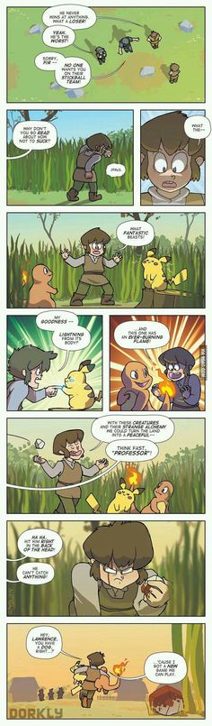 The beginning of Pokemon - 9GAG