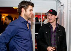 Pals on and off the ice - Brent Seabrook and Duncan Keith