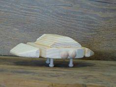 Wooden Toys Alien Spaceship UFO Plane Geekery by OutOnALimbADK