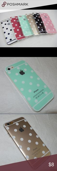 FAB FRIDAY SALE Polka Dot Phone Cases Aren't these cases just too adorable?! *For iPhone 6 only!* Other