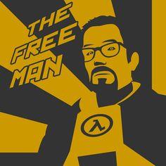 Gordon Freeman stencil design by outsiderzero on deviantART