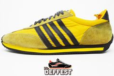 Sears The Winner yellow and black vintage sneakers @ The Deffest