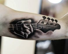 Guitar tattoo - would like as a memorial tattoo of my dad.