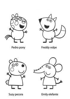 Peppa pig mscaras More  imprimir  Pinterest  Peppa pig