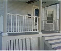 In terms of the home decor, deck primarily works as your living area's extension. However, a lot of people tend to overlook the skirting. That is why we gathered up some of the mesmerizing deck skirting ideas for you. House Skirting, Deck Skirting, Under Decks, Building A Porch, House Building, Building Plans, Front Deck, Front Verandah, Diy Deck
