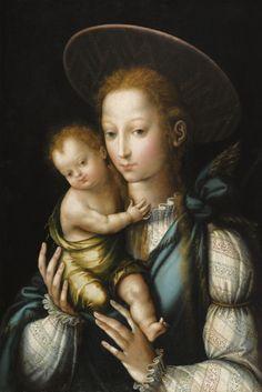 Luis de Morales (1512-1586) — Madonna and Child, 1567-1570