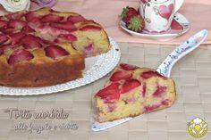 torta morbida alle fragole e ricotta senza burro ricetta dolce soffice alle fragole anche senza glutine il chicco di mais